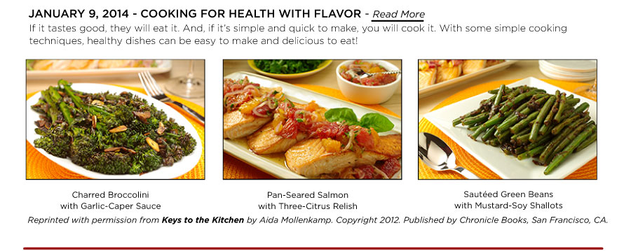 Cooking for Health with Flavor!